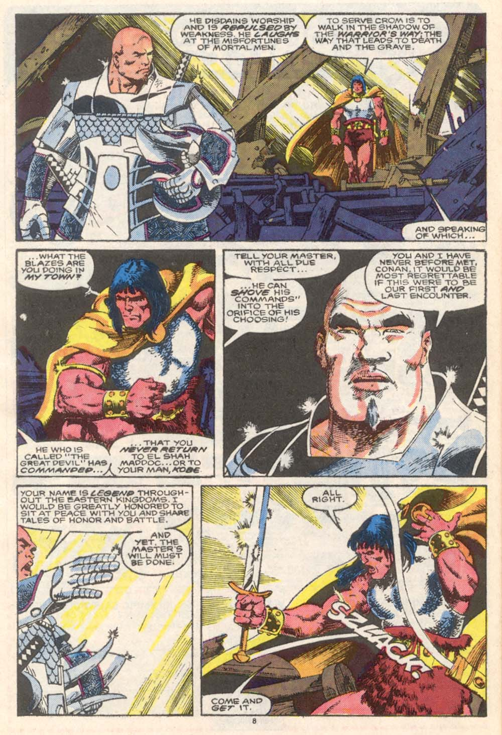 Conan the Barbarian (1970) Issue #206 #218 - English 8