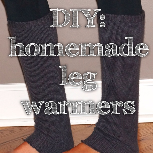 DIY: Homemade Leg Warmers