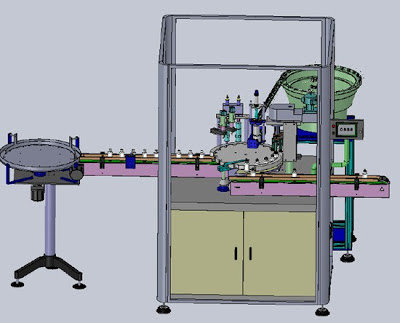 automatic filling machine with 6 filling nozzels