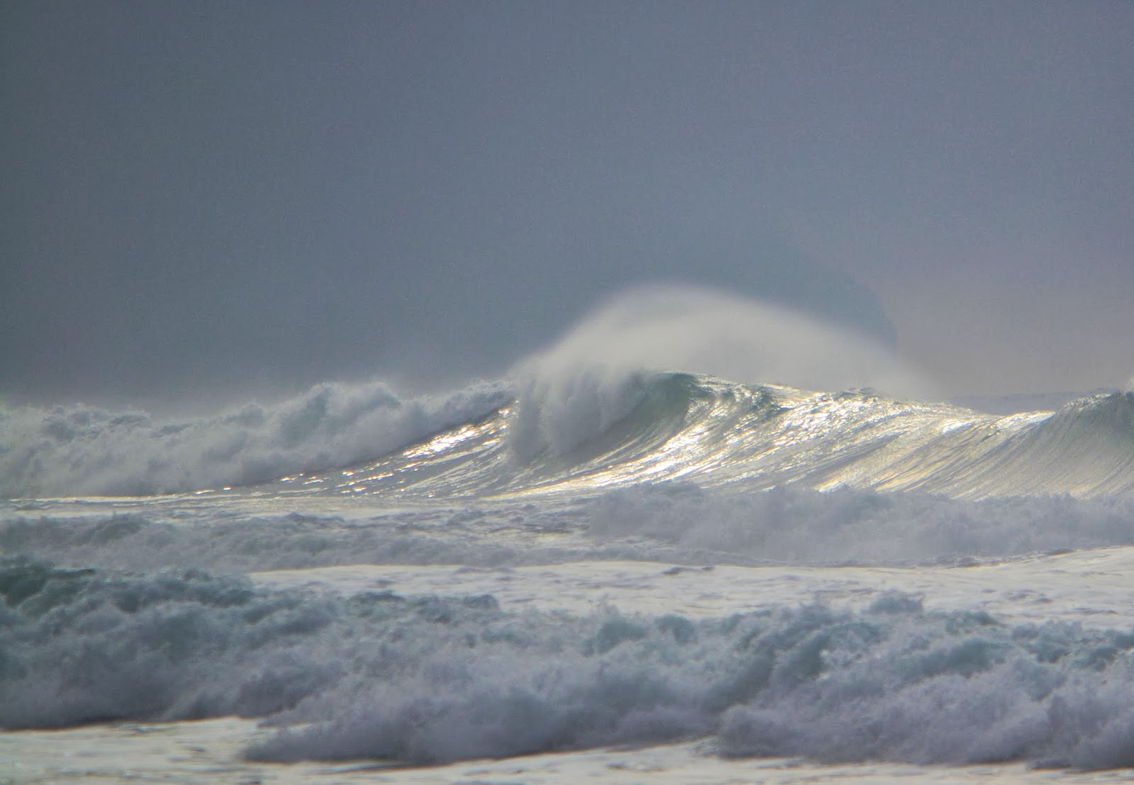 Photo of Winter Waves by Nancy Zavada