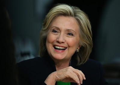 Presidential hopeful Hillary Clinton