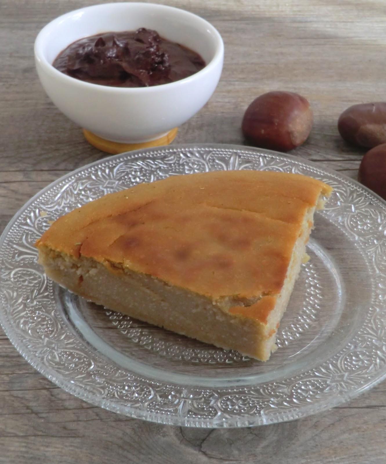 tartelettes aux marrons sans gluten