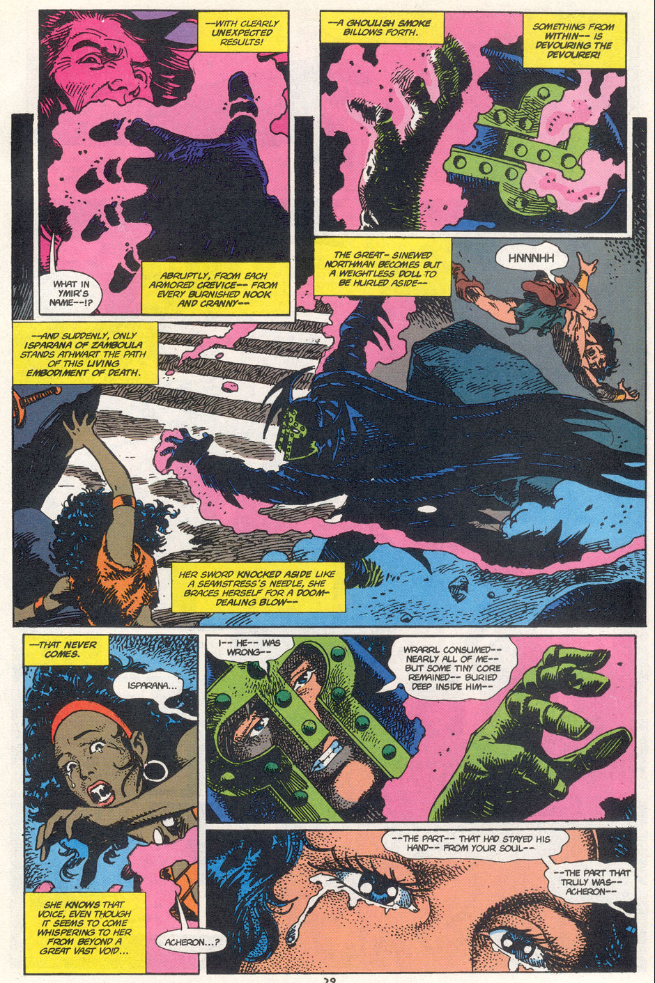 Conan the Barbarian (1970) Issue #272 #284 - English 21