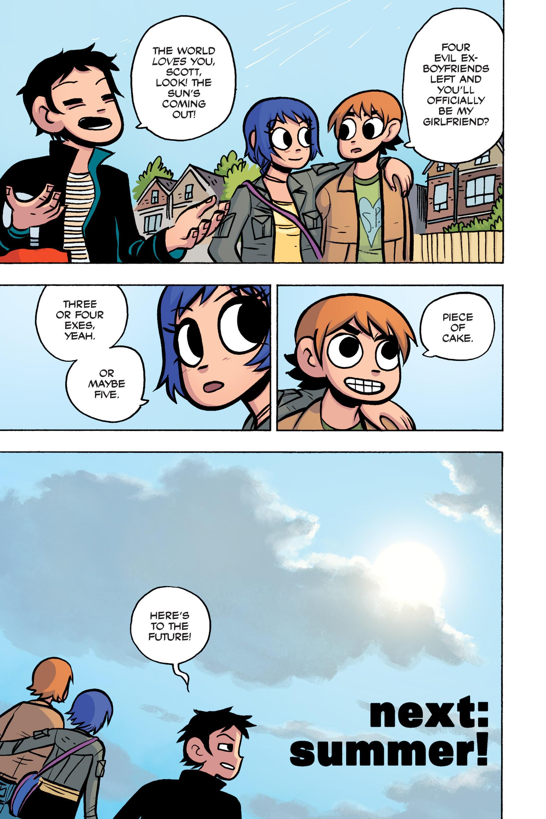 Read online Scott Pilgrim comic -  Issue #3 - 176