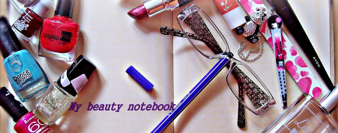 My beauty notebook