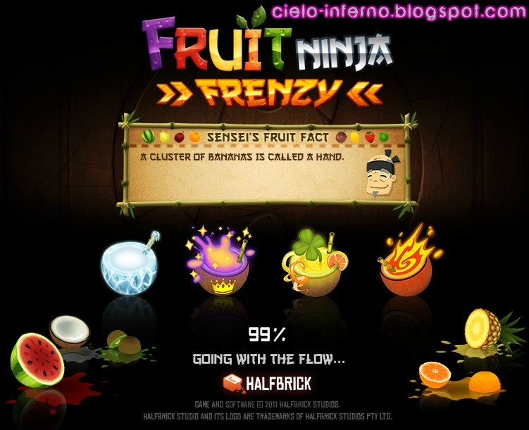 Fruit Ninja Frenzy Cheats