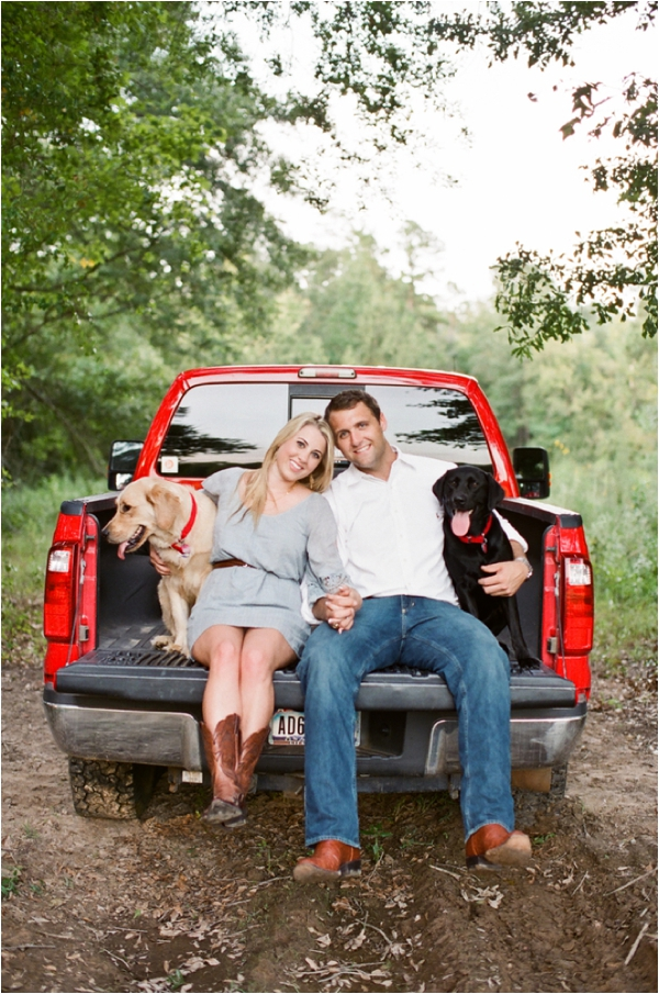 Texas Outdoor Engagement Session by Kimberly Chau