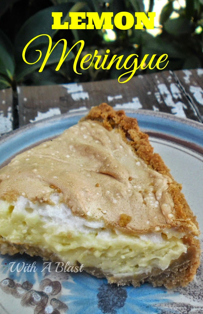 Lemon Meringue ~ No frills, no-fuss Lemon Meringue with an easy crust #LemonMeringue #LemonPie