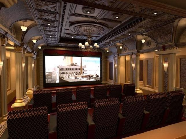 Homes Mansions A Look At Some Home Theaters