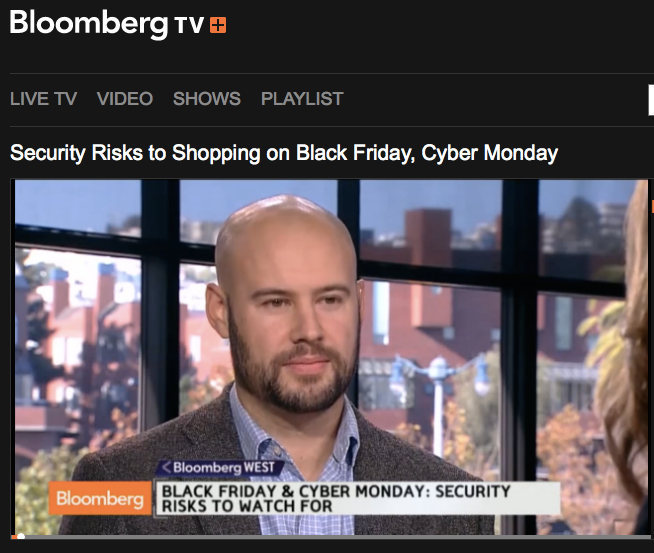 http://www.bloomberg.com/video/security-risks-to-shopping-on-black-friday-cyber-monday-6PjZnEuZQCSPloruV3wBww.html