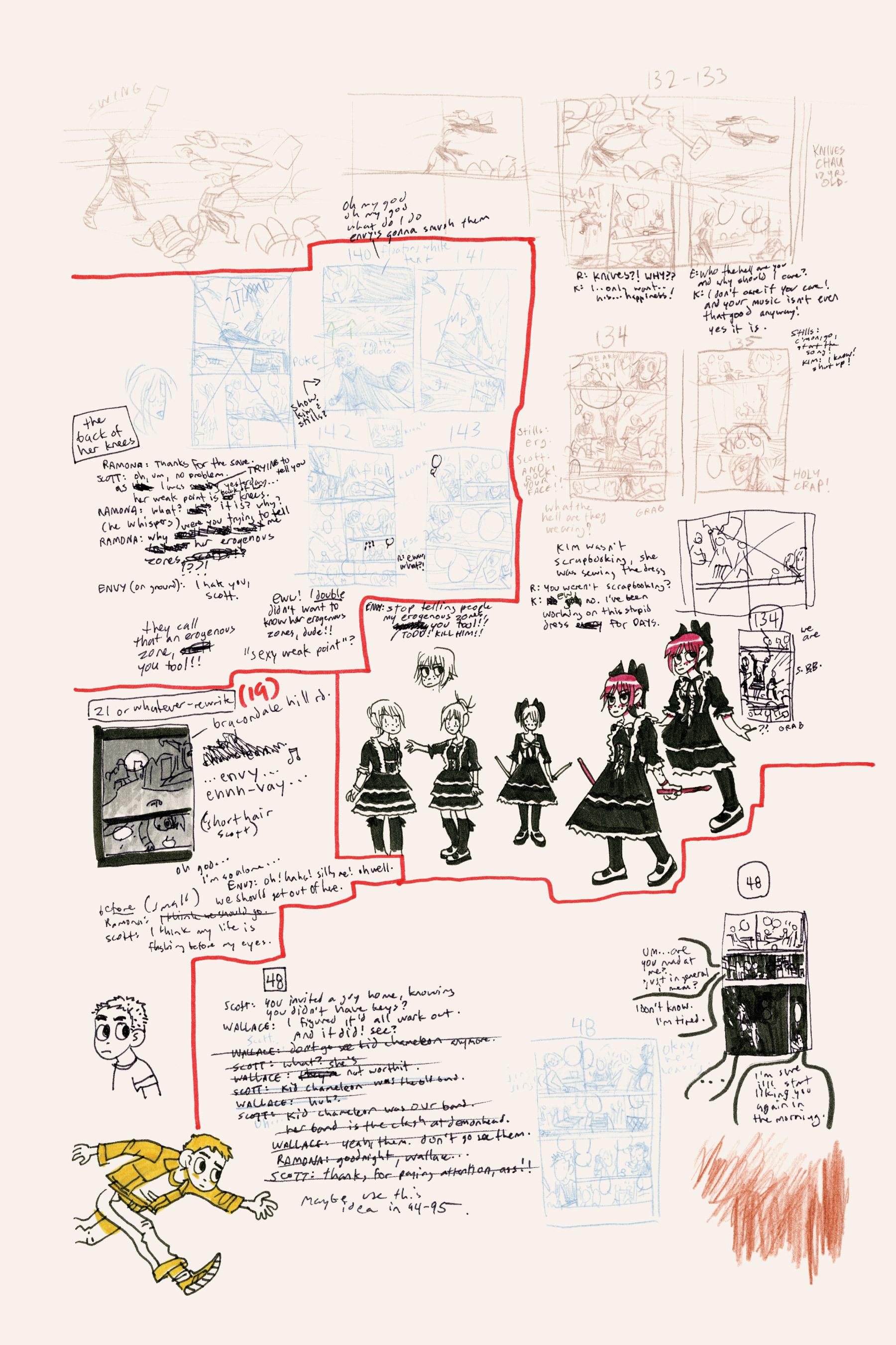 Read online Scott Pilgrim comic -  Issue #3 - 214