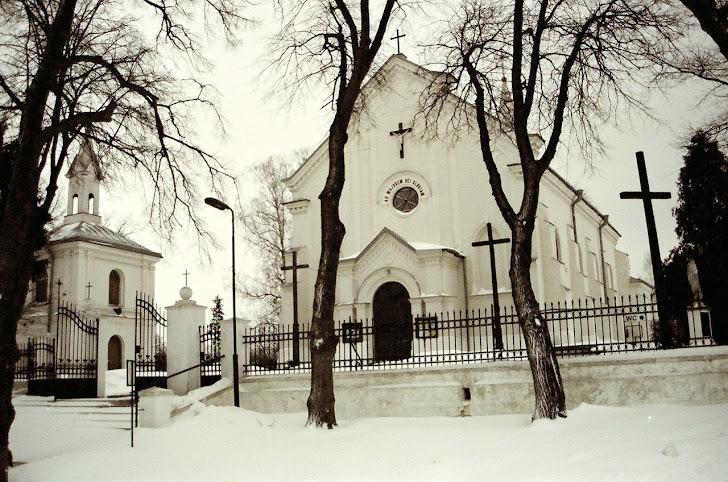 Igreja perto de Lublin