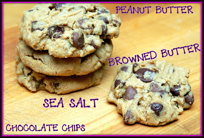 ... : PEANUT BUTTER, CHOCOLATE CHIP, BROWNED BUTER & SEA SALT COOKIES