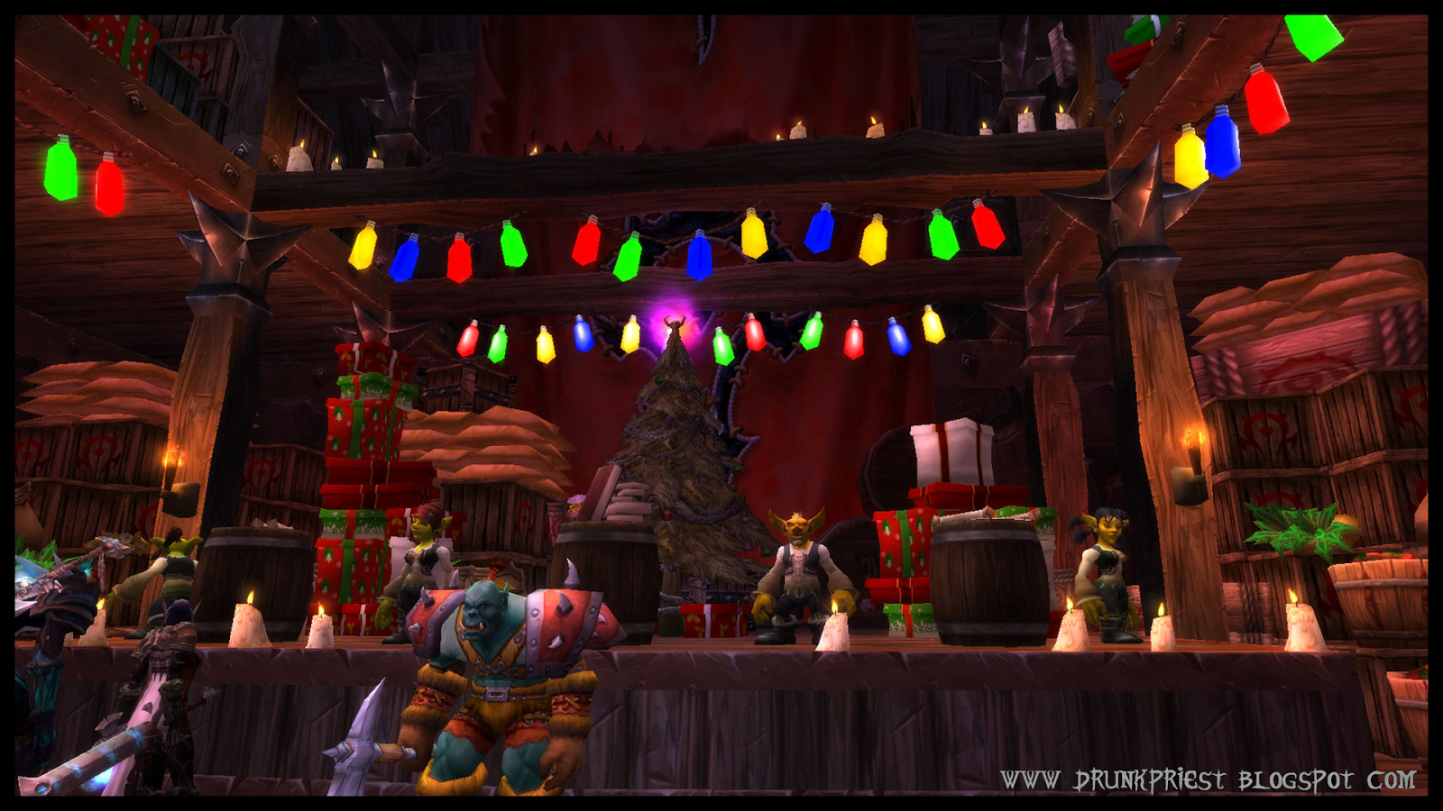 Wordld of Warcraft Feast of Winter Veil