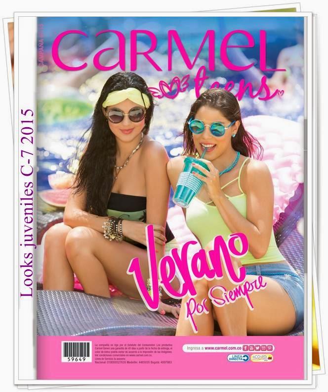 Catalogo Carmel Teens Campaña 7 2015