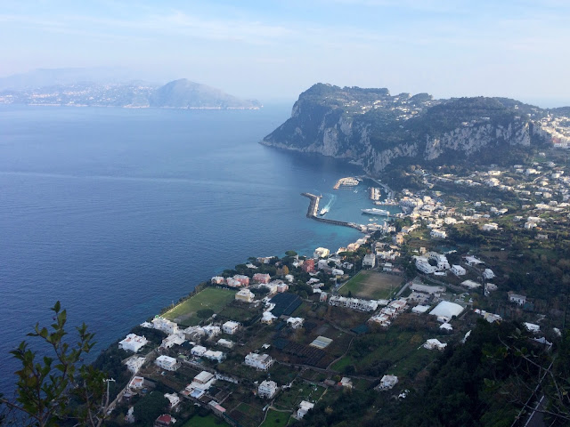 Winter in Capri