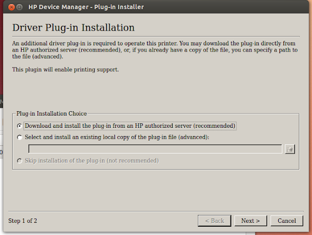 HP Device Manager - Plug-in Installer