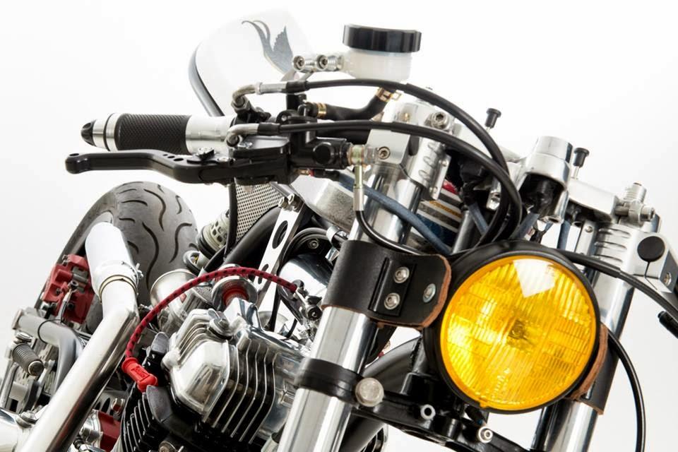 Honda CBN 400 Custom by Ed.Turner Motorcycles