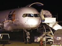 FedEx Express are now using Boeing 757F's from Birmingham
