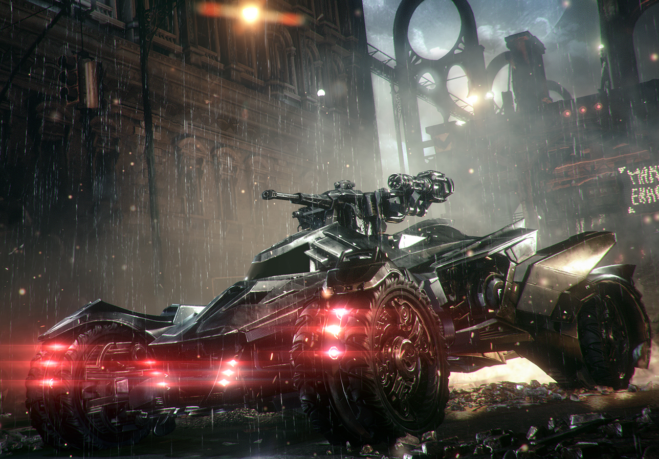 Batman: Arkham Knight - Batmobile Battle Mode Gameplay Trailer - E3 2014