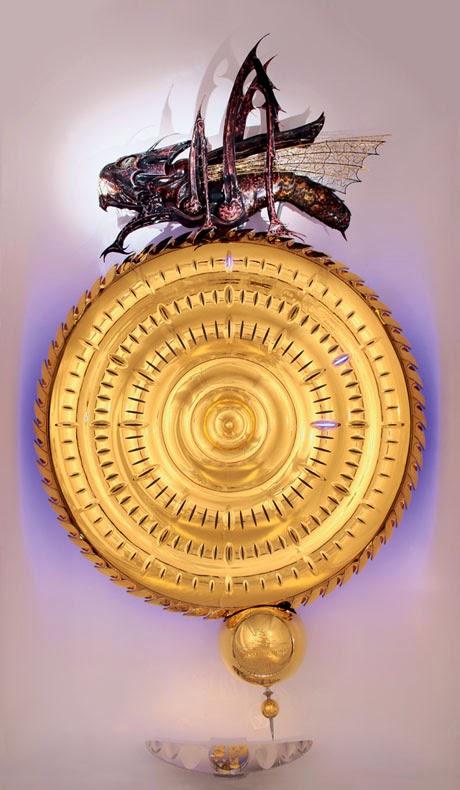 El Reloj Corpus sin número crea una comida de tiempo para el temido insectoide Cronófago