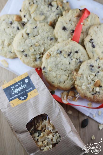 Cookies Granola Chocolat