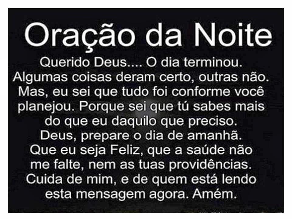 lindas orações