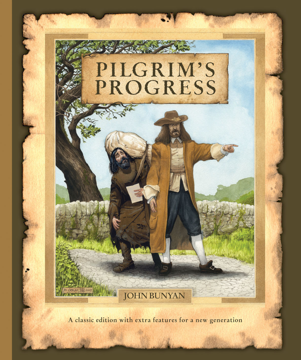 the journey of a christian into the celestial city in pilgrims progress by john bunyan A short summary of john bunyan's the pilgrim's progress ticket into the celestial city, christian pilgrims continue on their journey and kill the.
