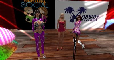 Governess Kara, Zav and Miss Sabrina at AYA Stage
