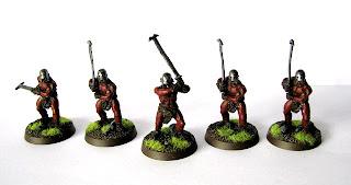 Figurki Uruk-Hai Berserkers