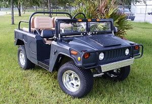 hummer modifications - golf cars - luxury golf cars
