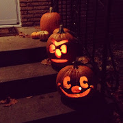 . a pumpkin eating pumpkin and a Darth Vader pumpkin.to name a few.