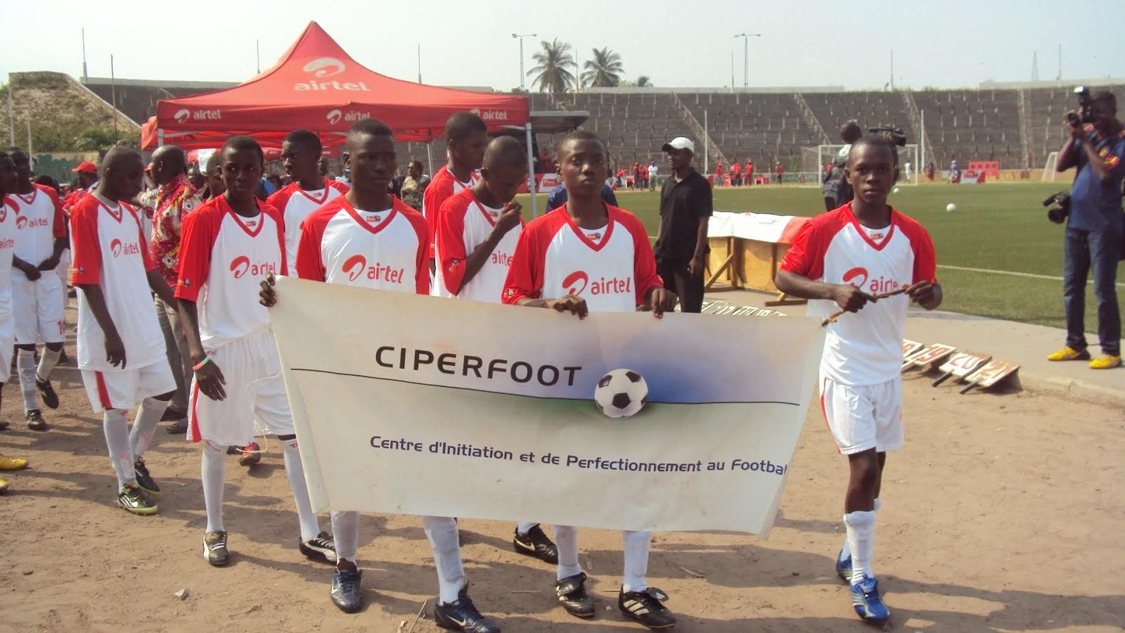 Fussballschule in Sanga Mamba