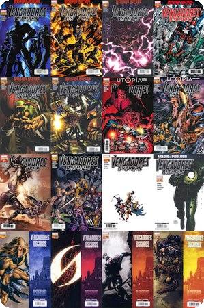 Vengadores oscuros Cómic, 16 Números, Español, Cbr