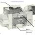 شرح  دارة  تشغيل محرك    Comutateur  moteur  AC asea .