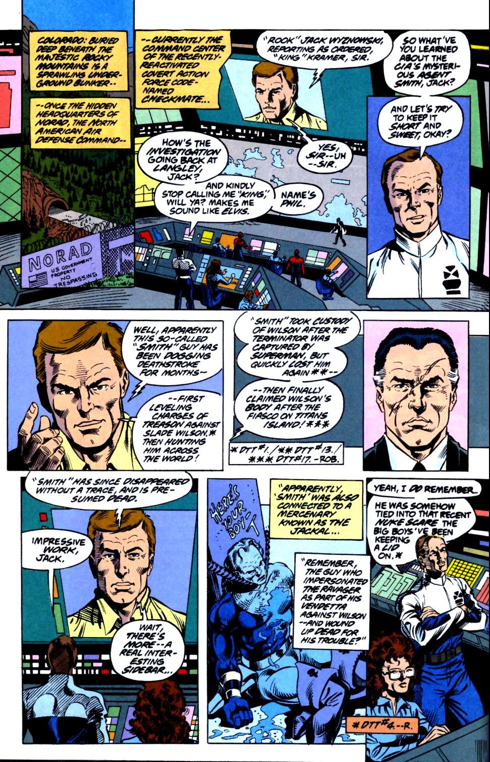 Deathstroke (1991) Issue #18 #23 - English 8