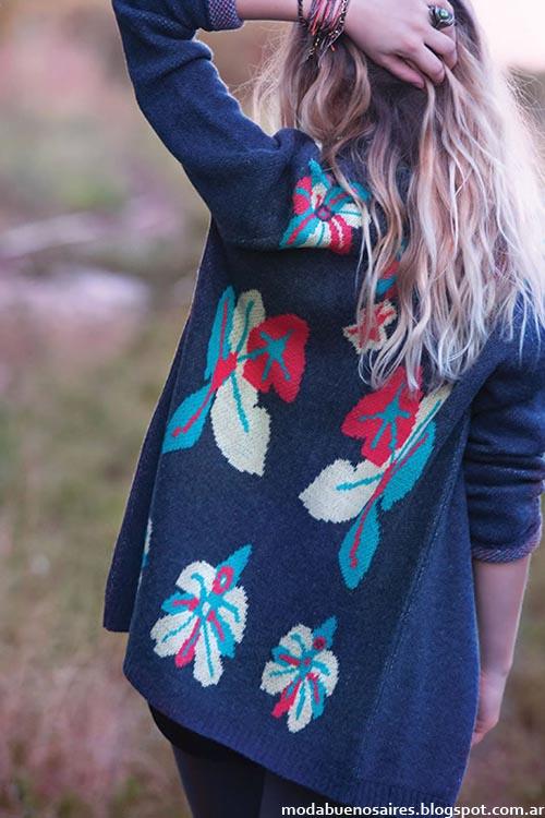 India Style moda invierno 2013 tejidos
