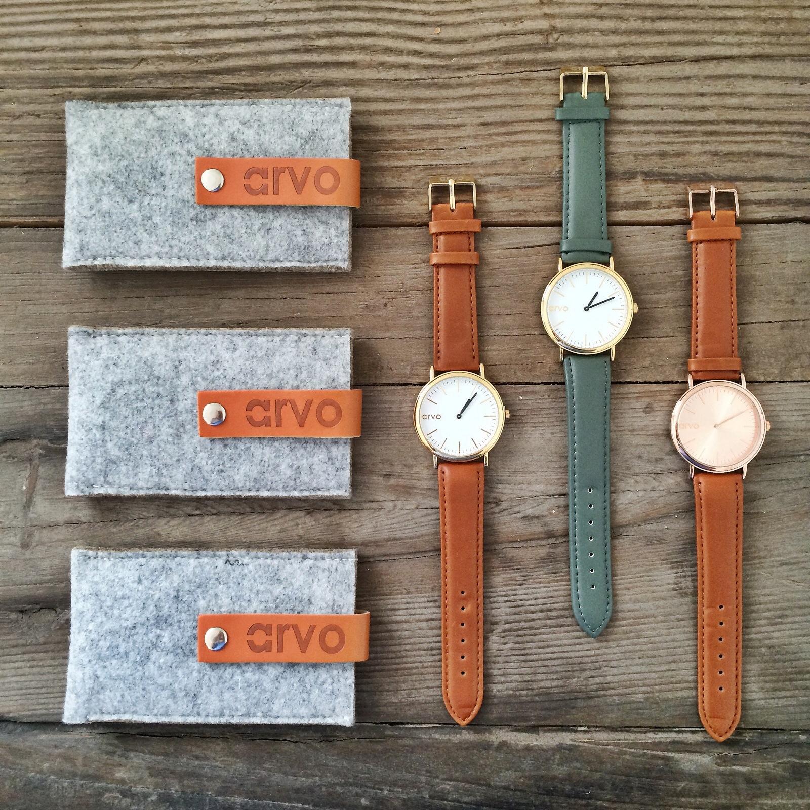 Arvo Wear Watches