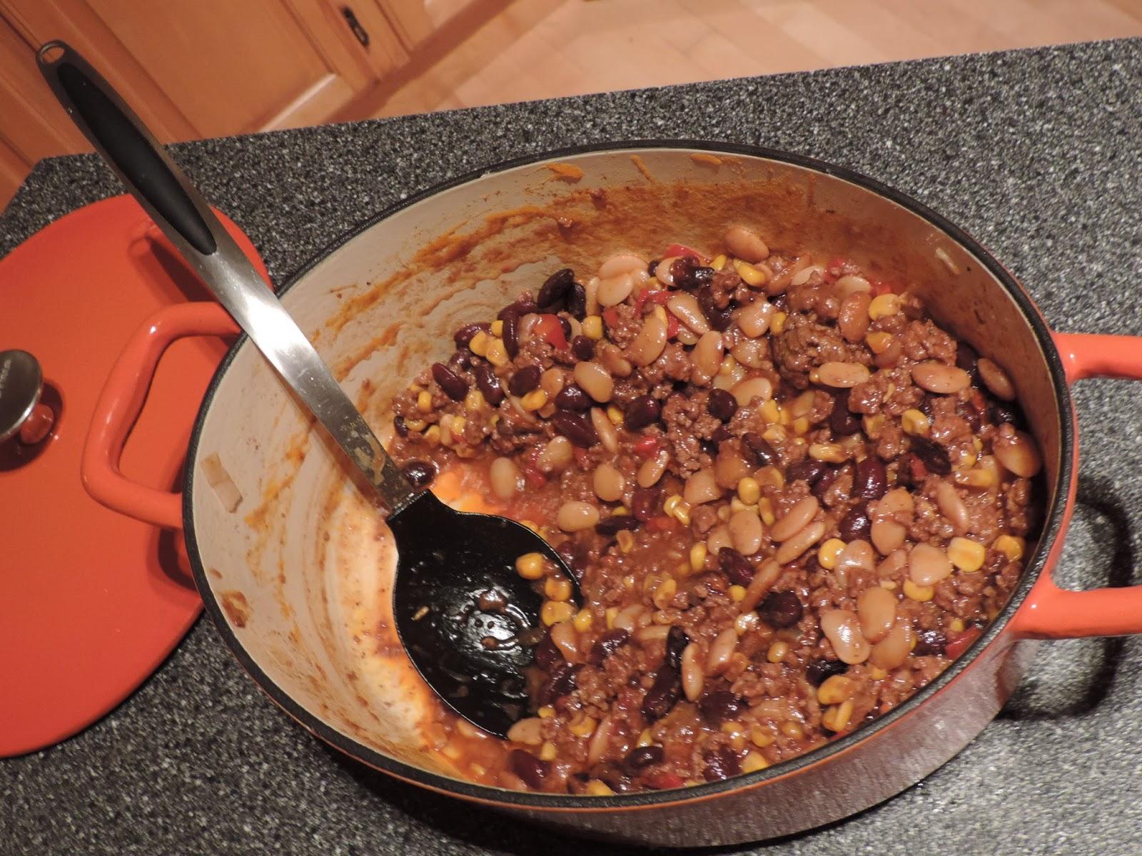 Maman Mélanie cuisine: Chili