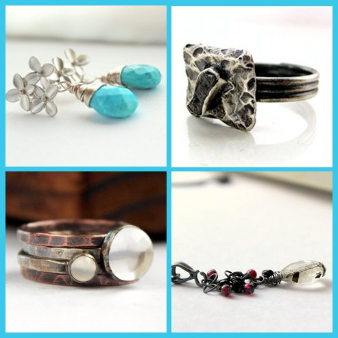 Handmade jewelry from Little Bug Jewelry