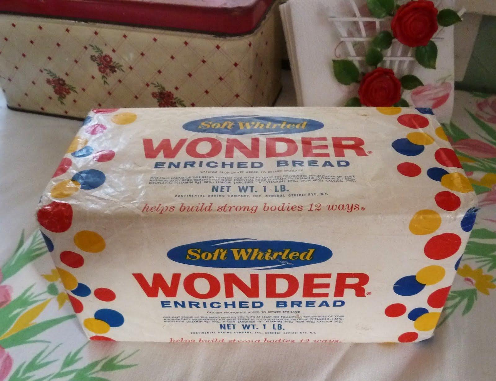 Wonder bread loaf this vintage wonder bread
