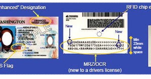 rfid chip in drivers license