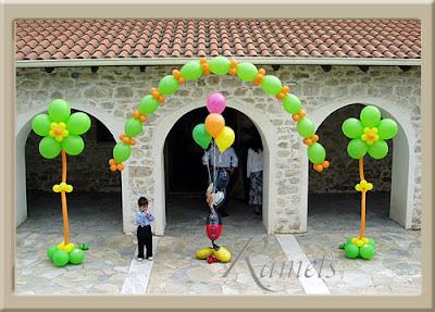 Cómo Decorar con Globos en Fiestas Infantiles