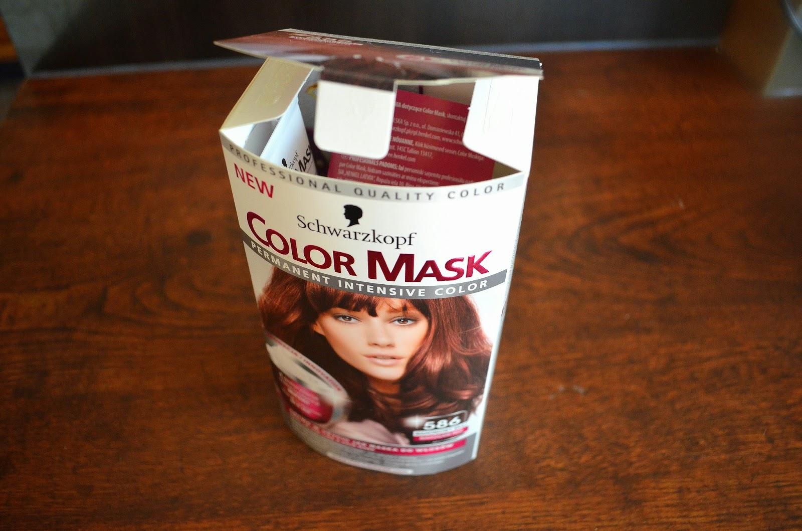 Domowa Koloryzacja - Schwarzkopf Color Mask