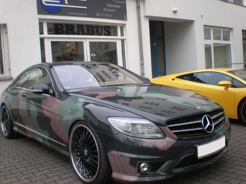 Mercedes Benz Cl63 Amg Camouflage Benztuning