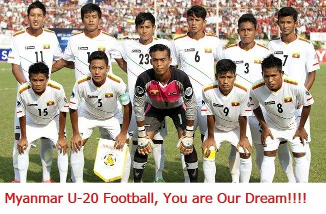 Myanmar U-20, Keep Fighting for World Cup.