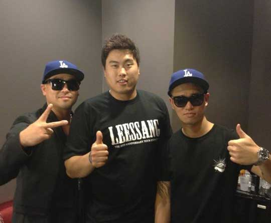 Leessang With Ryu Hyun Jin