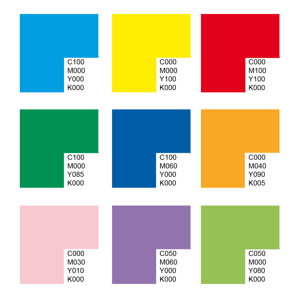 pop art pantone essential characteristic elements
