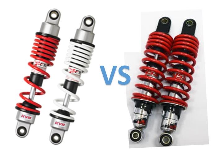 Review Shock Breaker Motor Kayaba Zeto Z VS YSS Top Up
