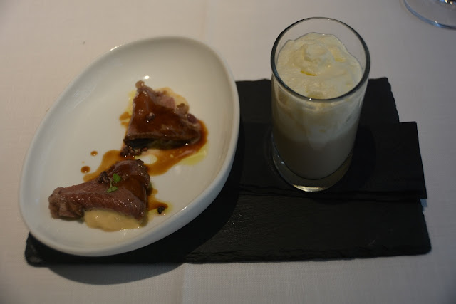álbora restaurant Madrid amuse